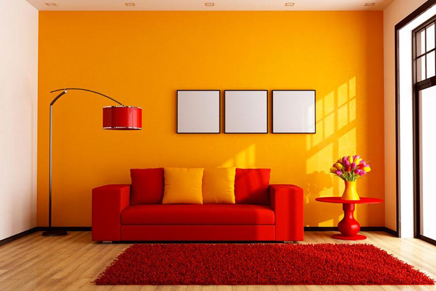 Pareti Soggiorno Giallo Ocra.Tinteggiare Casa I Nuovi Trend Del 2019 Pierucci A