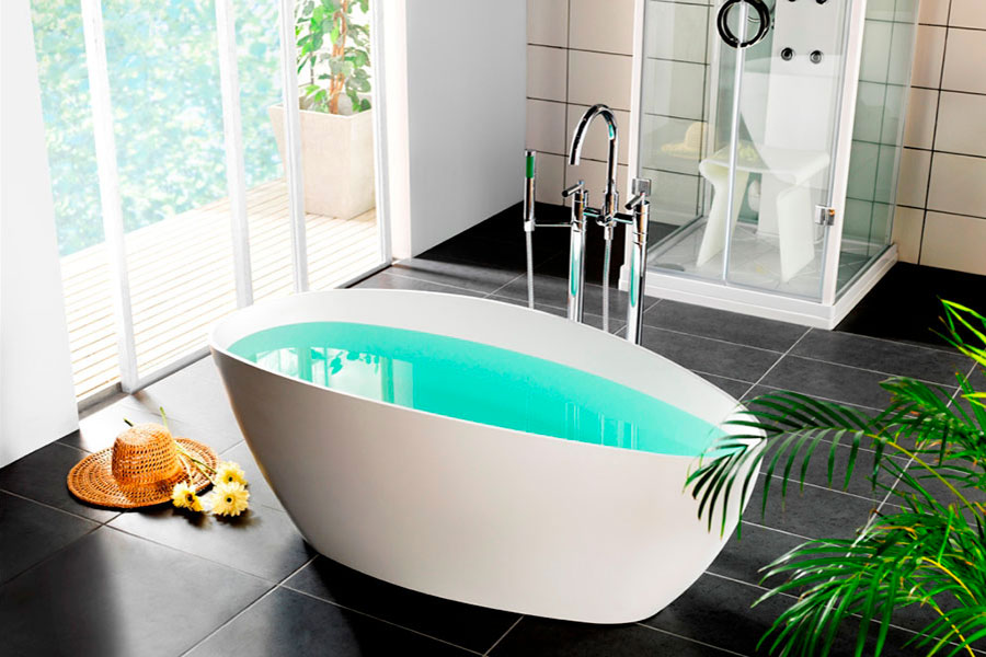 Dimensioni Vasca Da Bagno Libera Installazione : Vasche di ursini u arredamento casa