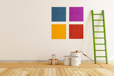 Tinte per pareti